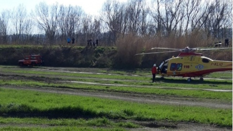 incidente motocross pesaro